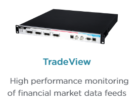 Ixia's TradeView Network Packet Broker