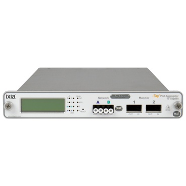IXIA ITap 10GB Fiber Port Aggregator-Network monitoring made dramatically easier