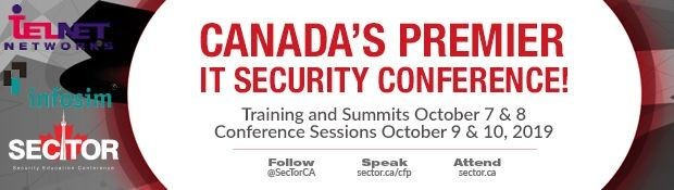 Canada's Premier IT Security Conference!