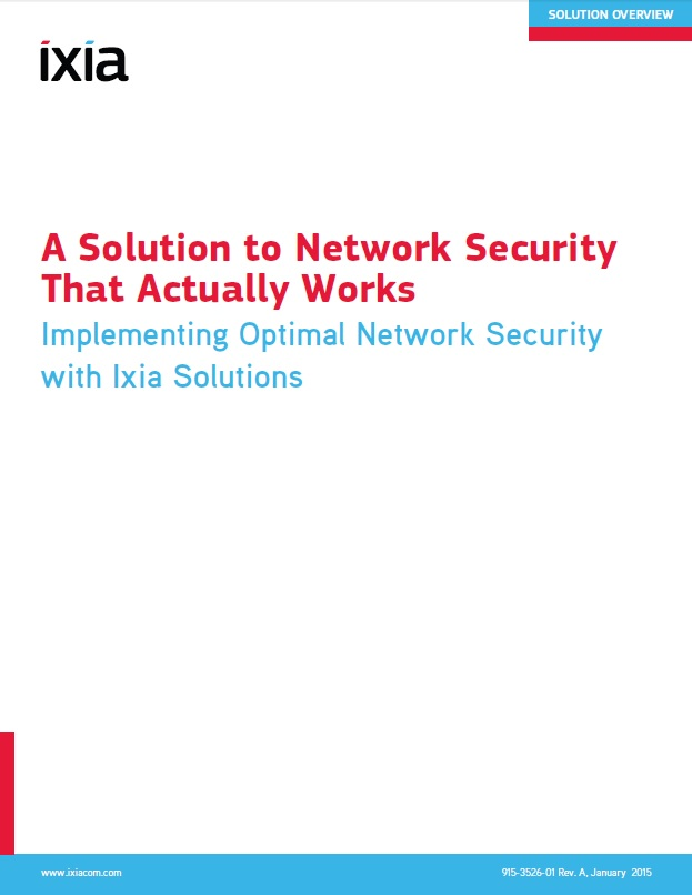 A Solution to Networks Security that Actually Works