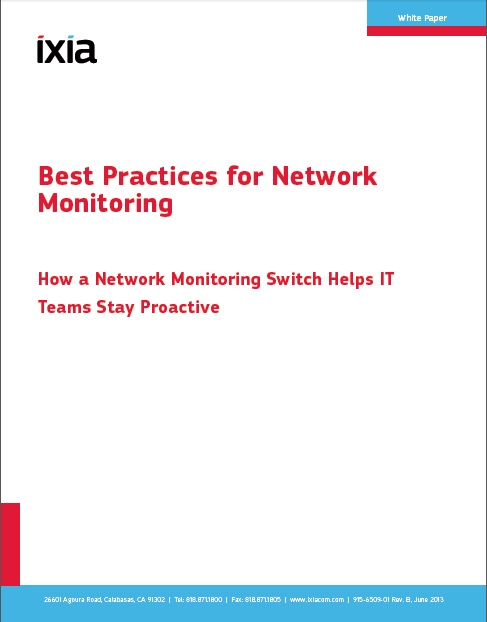 Best Practices for Network Monitoring
