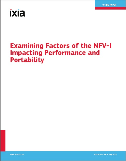 Examining Factors of the NFV I Impacting Performance and Portability