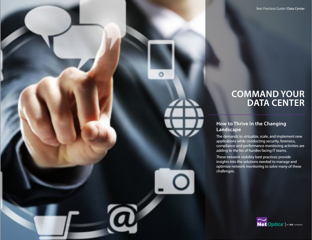 Net Optics Command Your Data Centre
