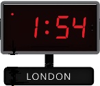 Sapling's Time Zone Clocks