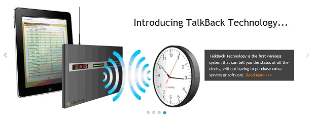 Sapling Clocks- TalkBack Clock System