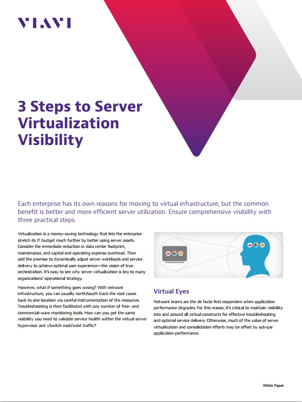3 Steps to Server Virtualization Visibility