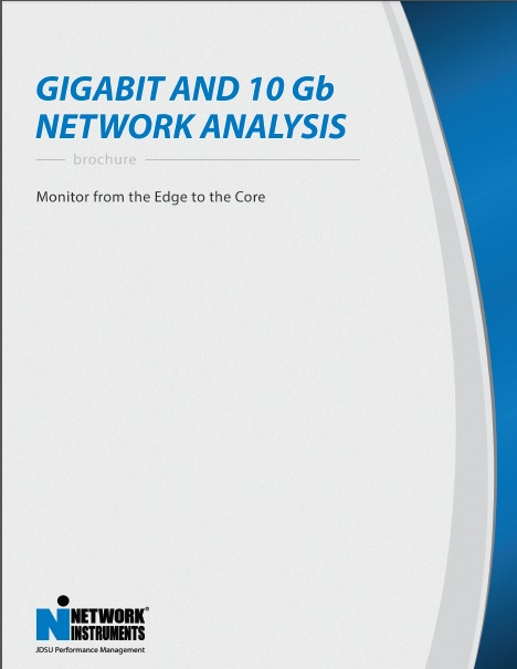 Gigabit and 10-Gb Network-Analysis