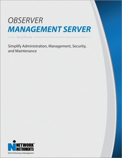 Observer Management Server Brochure