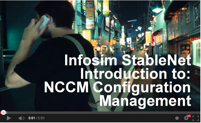Infosim StableNet Introduction to Configuration Management