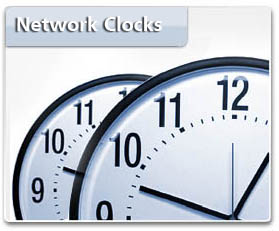 Inova Solutions - Ethernet POE Time Display Clocks