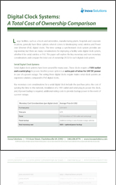 Digital Clocks Systems - White Paper A Total Cost of OwnerShip