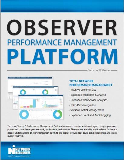 Observer Platform Overview Brochure