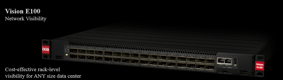 Vision 100 Network Visibility Cost-effective rack-level for any size data center