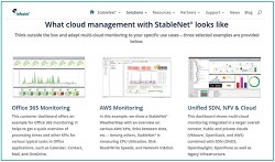 Infosim StableNet® - How to achieve multi-cloud monitoring