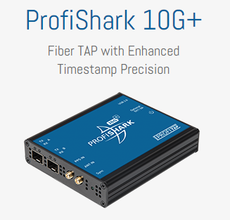 ProfiShark 10G+ Fiber TAP with Enhanced TimeStamp Precision