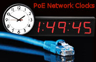 PoE Network Display Clocks