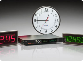 Synchronized Display Clocks