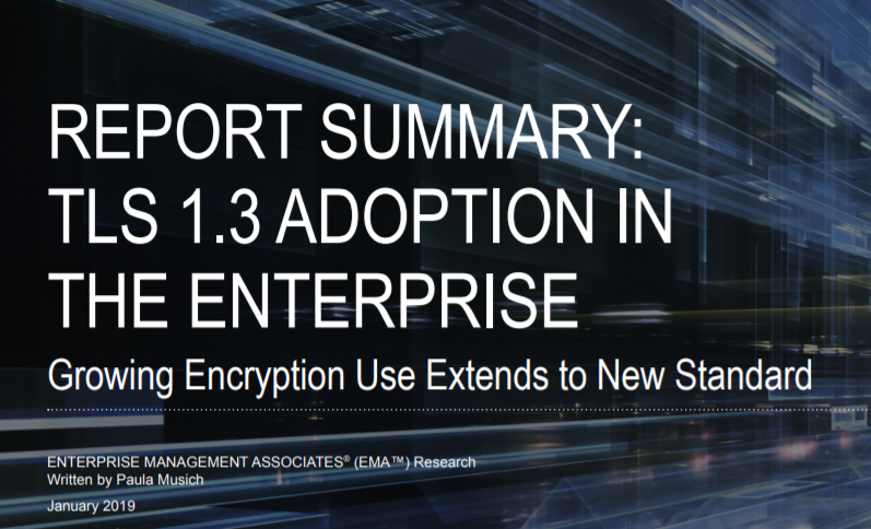 Report Summary TLS 1.3 Adoption in the Enterprise