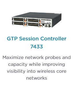 Ixia's GTP Session Controller 7433 Network Packet Broker