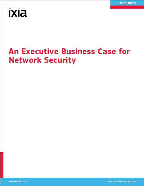 Executive Business Case for Network Security
