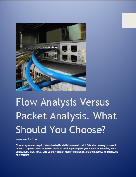 Flow Analysis Packet Analysis