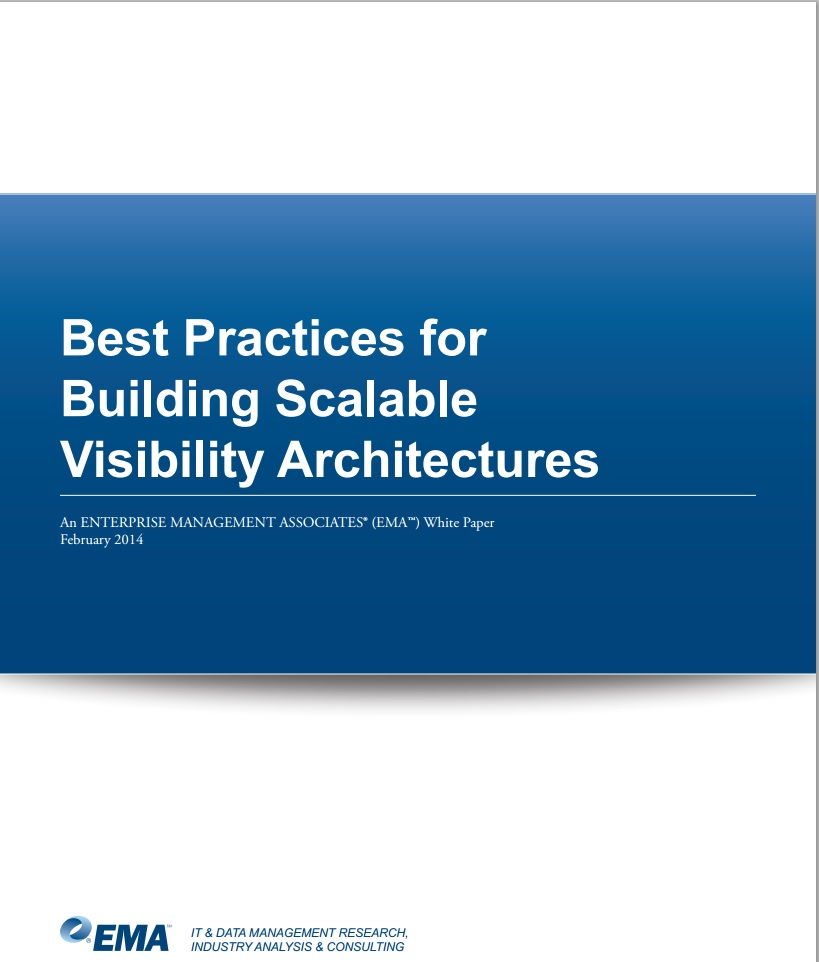 Best Practices for Building Scalable Visibility Architechtures