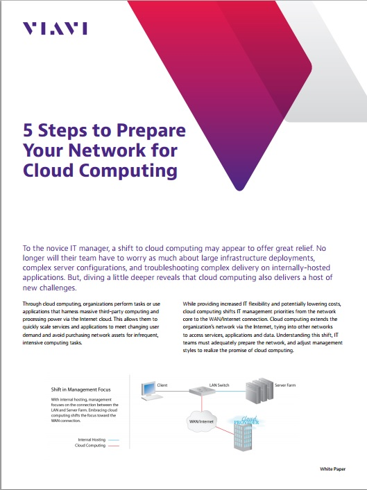 5 Steps to Prepare your Network for Cloud Computing
