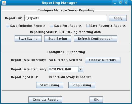 LANforge-GUI Reporting Manager