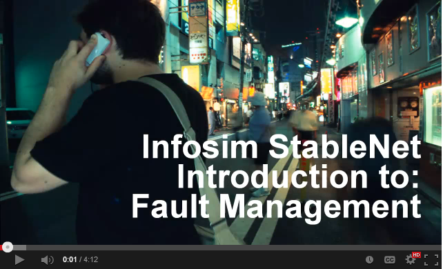 Infosim StableNet Introduction to Fault Management