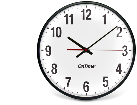 Inova OnTime IP PoE Analog Clocks