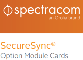 Option Module Cards for SecureSync Datasheet