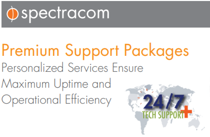 Spectracom Premium Support Package