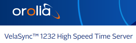 VelaSync™ 1232 High Speed Time Server