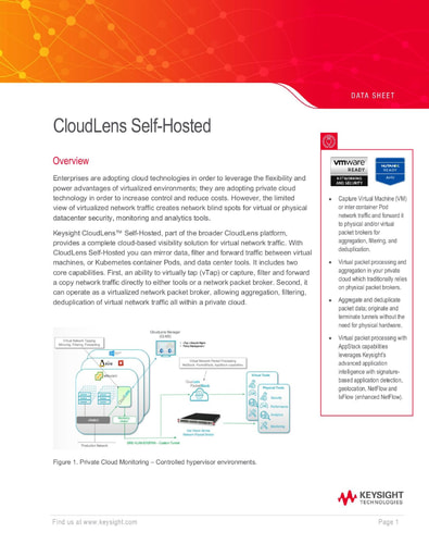 CloudLens Self-Hosted