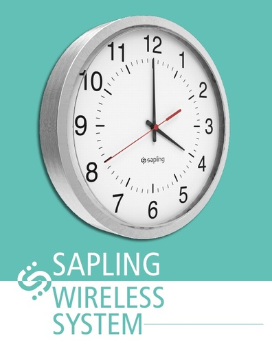 Sapling Wireless Clock Brochure