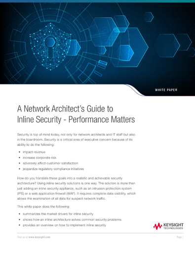 A Network Architect's Guide to Inline Security: Performance Matters